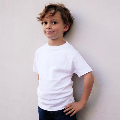 Children s t shirts kids tshirts boys tee shirts Boy white t shirt