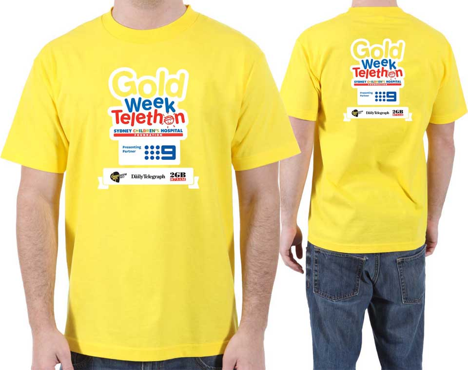 Sydney Children's Hospital tee shirts