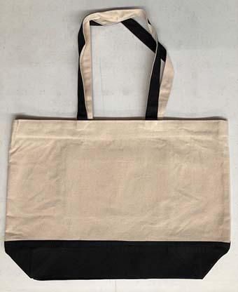 Resort Bag with Black Gusset