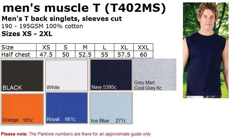Men Muscle T