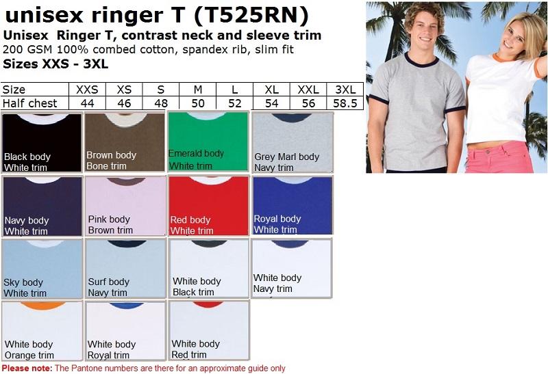 Unisex Ringer T
