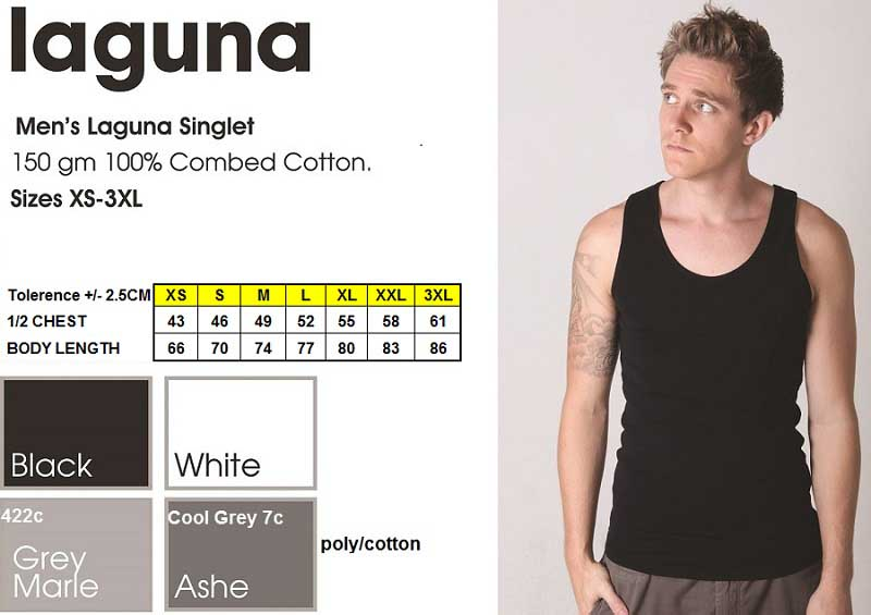 new laguna men's singlet