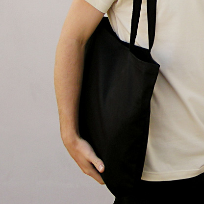 souvenir bag black