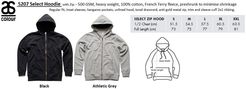 5207 Men Select Hoodie