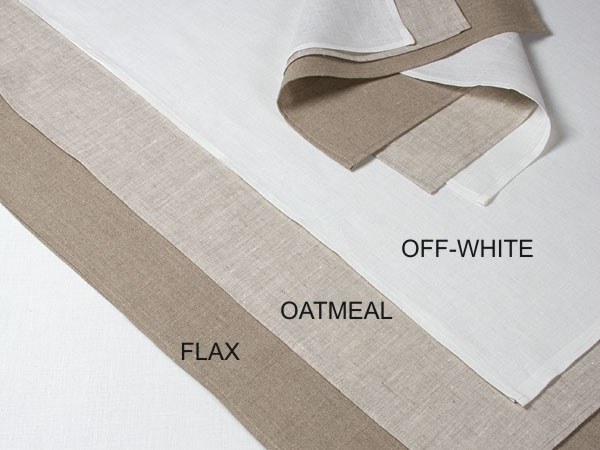 100% linen Flex oatmeal Tea Towel