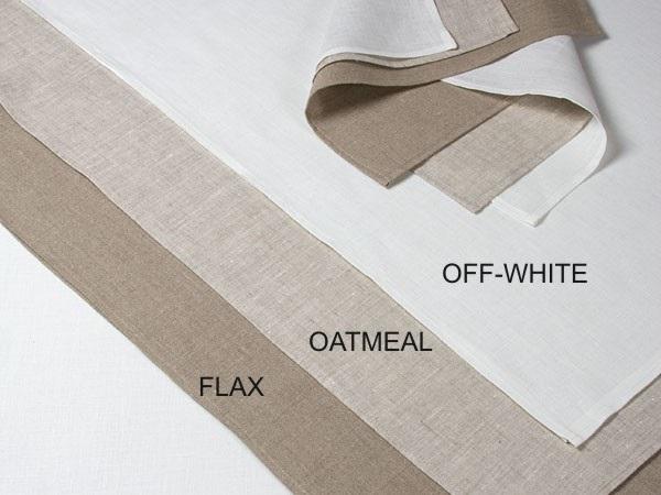 100% linen Flex oatmeal Tea Towel